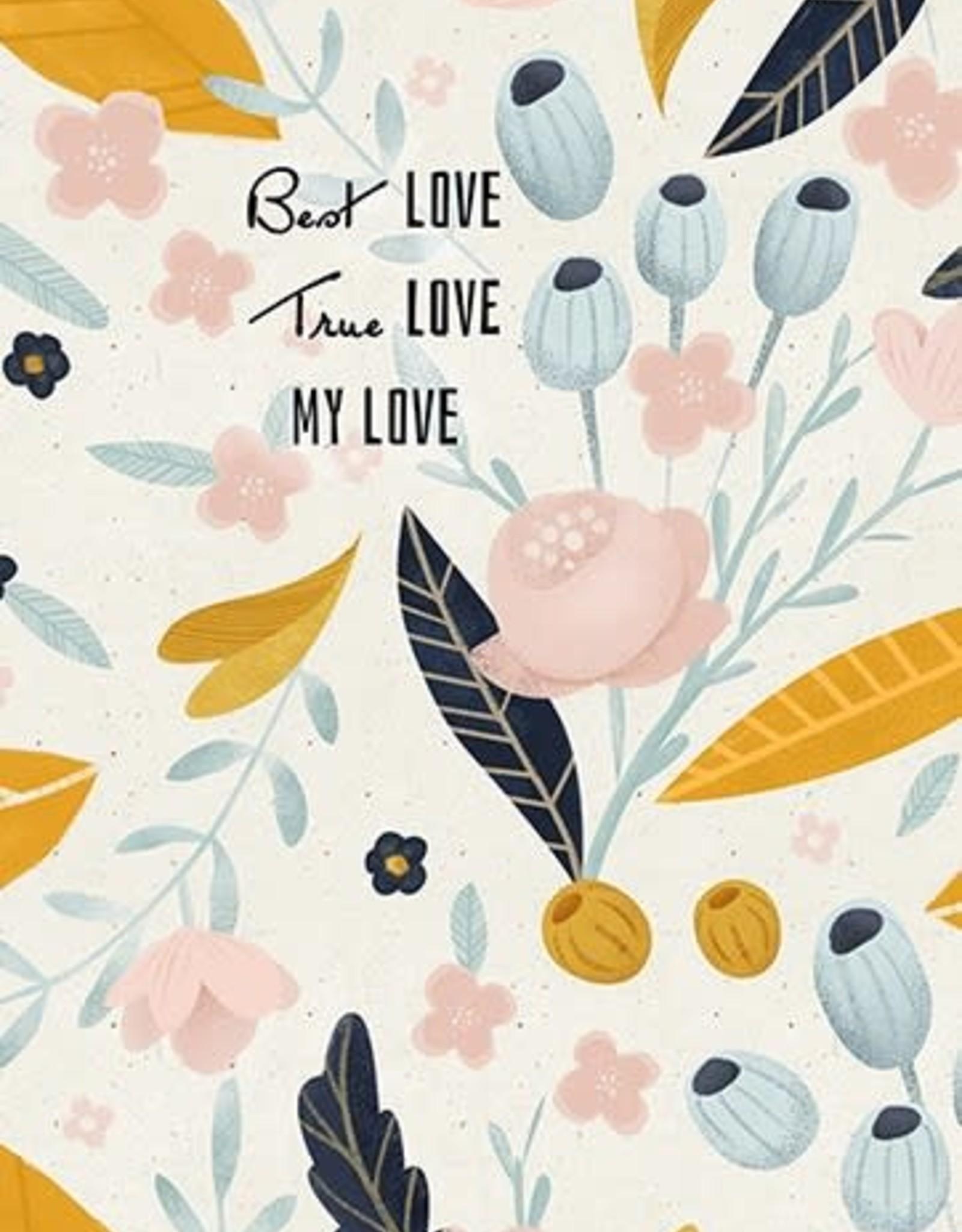 """Best Love"" Greeting Card - J&M Martinez"