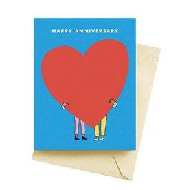 "Seltzer ""Happy Anniversary"" Greeting Card - Seltzer"