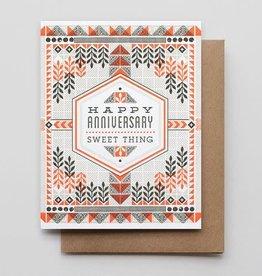 """Sweet Thing"" Anniversary Greeting Card - Hammerpress"