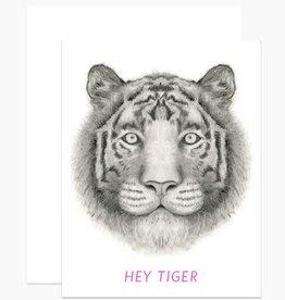 """Hey Tiger"" Greeting Card - Dear Hancock"