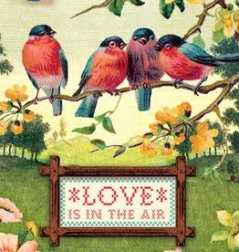"""Love Is In The Air"" Greeting Card - Cartolina"