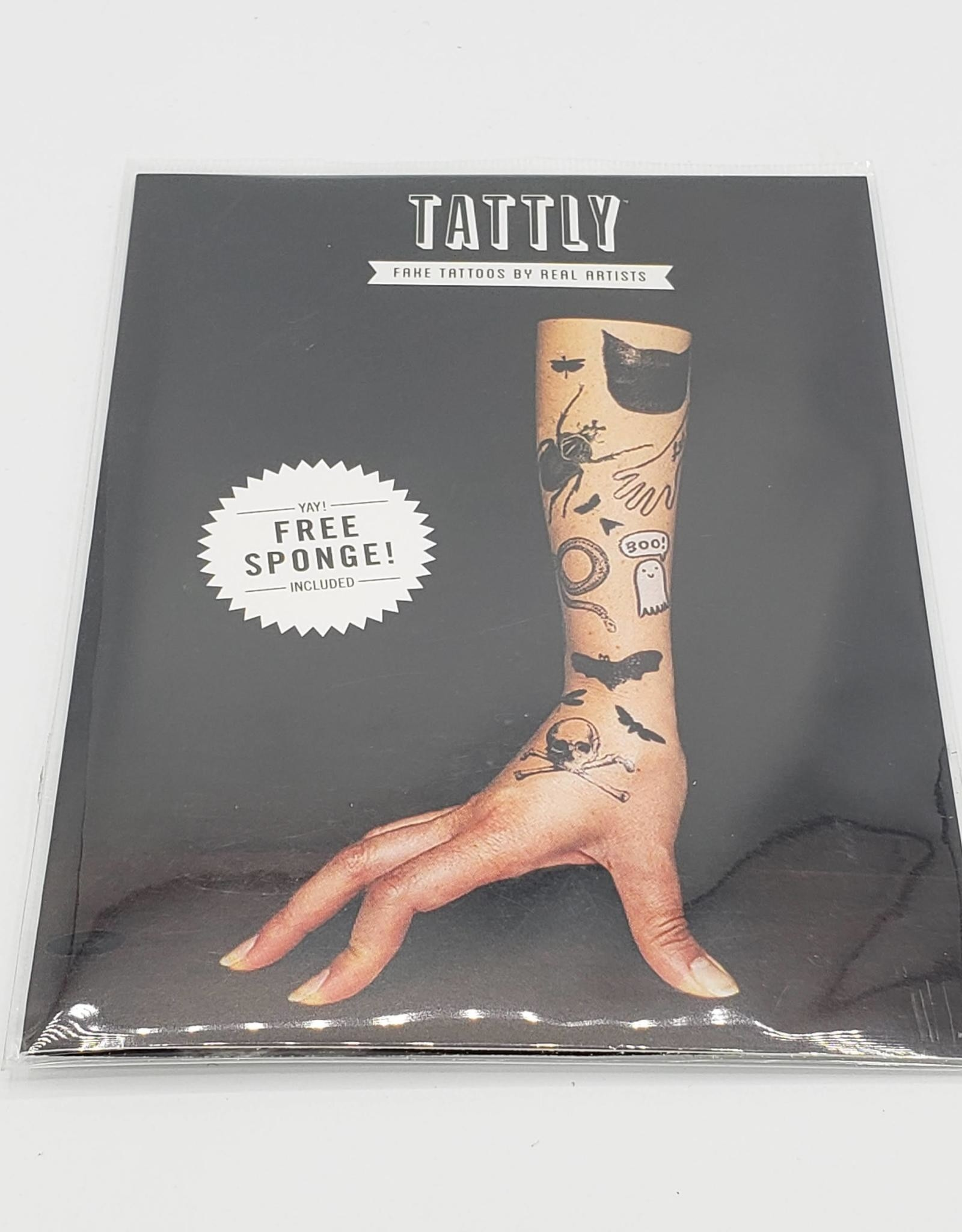 Tattly The Graveyard Set- Tattly Temporary Tattoo Pack