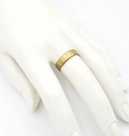 Redux Plain Brass Ring Band