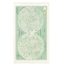 Cavallini Papers Celestial Tea Towel by Cavallini