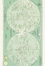 Cavallini Papers Celestial Tea Towel by Cavallini