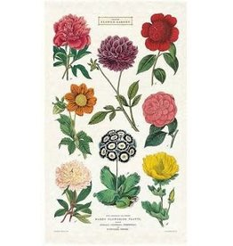 Cavallini Papers Botanica Tea Towel by Cavallini
