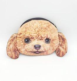 Poodle Dog Zip Pouch