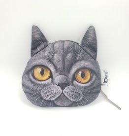 British Shorthair Cat Zip Pouch