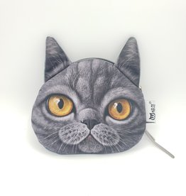 British Shorthair Cat Zipper Pouch