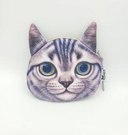 Tabby Cat Zipper Pouch