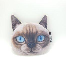 Siamese Cat Zipper Pouch