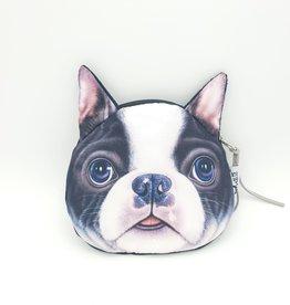 Boston Terrier Dog Zipper Pouch
