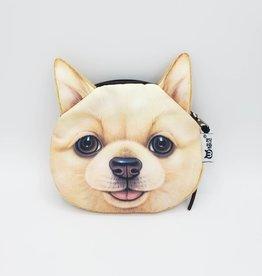 Pom Dog Zipper Pouch