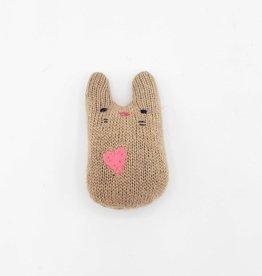 Cocoa Bean Tiny Recycled Sweater WeeKinnie Plushie