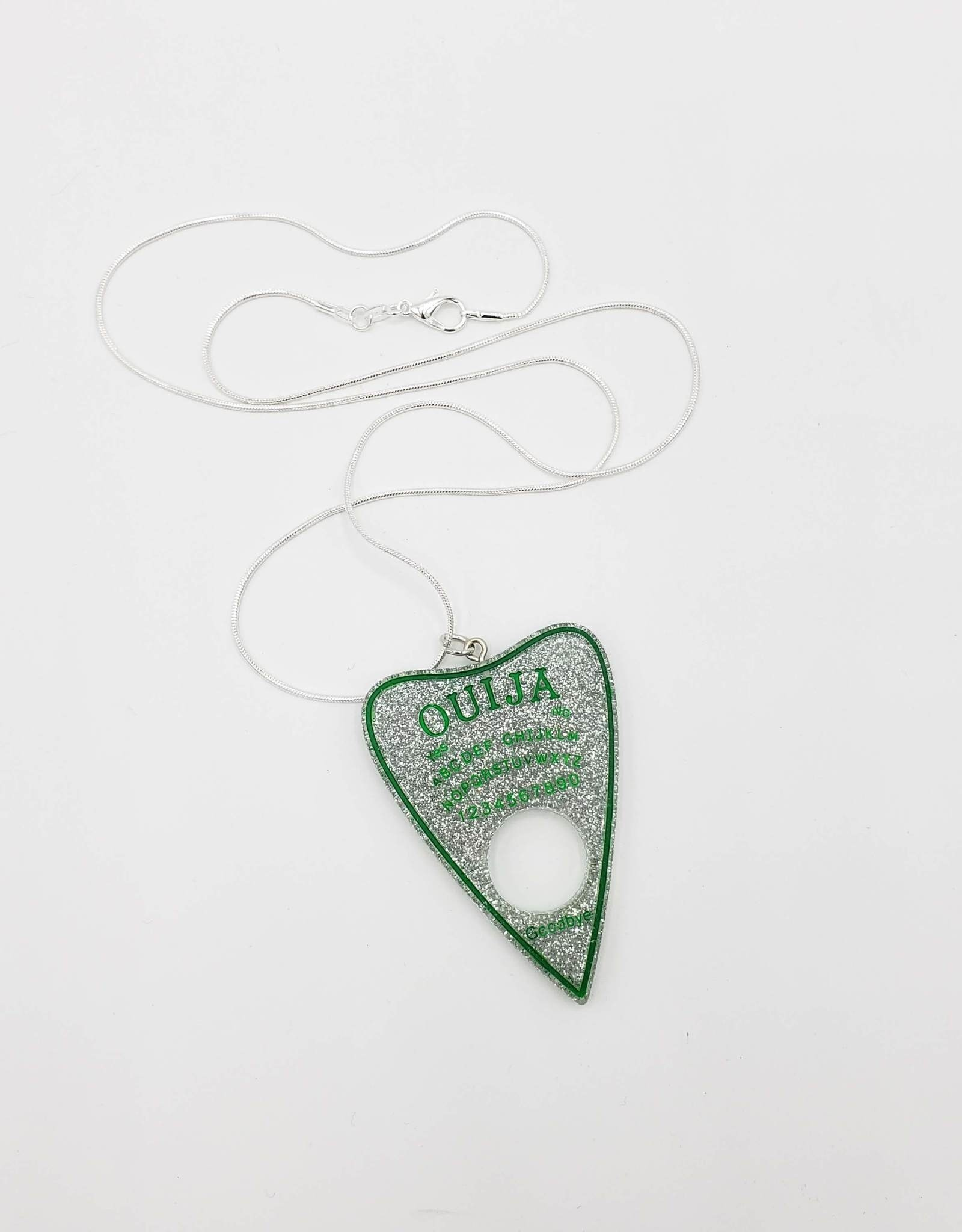 Planchette Pendant, Resin by Ink & Beats