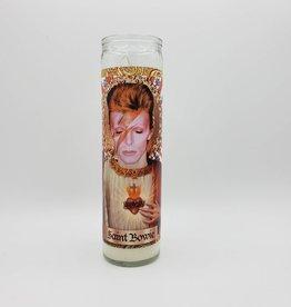 Ziggy Stardust Patron Saint Prayer Candle by OhMeSoHoly