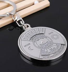 Kikkerland 50 Year Calendar Keychain