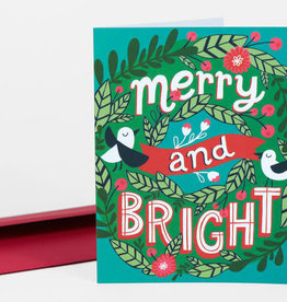 """""""Merry and Bright"""" Holiday Greeting Card - Allison Cole"""