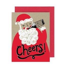 "Allison Cole ""Cheers"" Holiday Greeting Card - Allison Cole"
