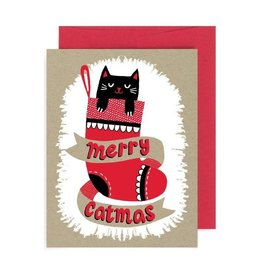 "Allison Cole ""Merry Catmas"" Holiday Greeting Card - Allison Cole"