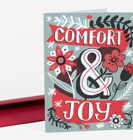 """Comfort & Joy"" Holiday Greeting Card - Allison Cole"