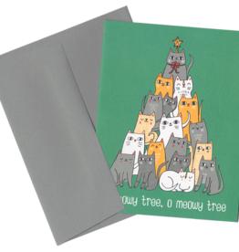 """O Meowy Tree"" Holiday Greeting Card - Allison Cole"