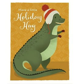 """Seltzer """"Have a Little Holiday Hug"""" Greeting Card - Seltzer"""