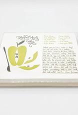Chopped Apple Cake - Holiday Recipe Greeting Card Set