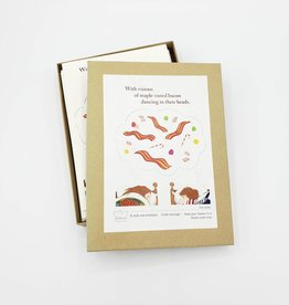 "Seltzer ""Visions of Maple Cured Bacon"" Holiday Cards Box Set - Seltzer"