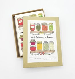 "Seltzer ""Joy is Definitely in Season"" Holiday Cards Box Set - Seltzer"