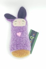 Grape Bunny Recycled Sweater Sprite Plushie