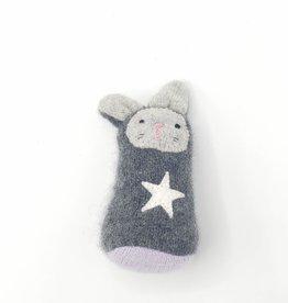 Smokey Bunny Recycled Sweater Sprite Plushie
