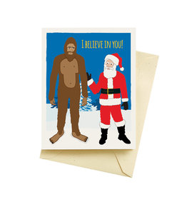 "Seltzer ""I Believe In You"" Holiday Greeting Card - Seltzer"