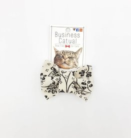 Floral Cat / Dog Bow Tie by Business Catual