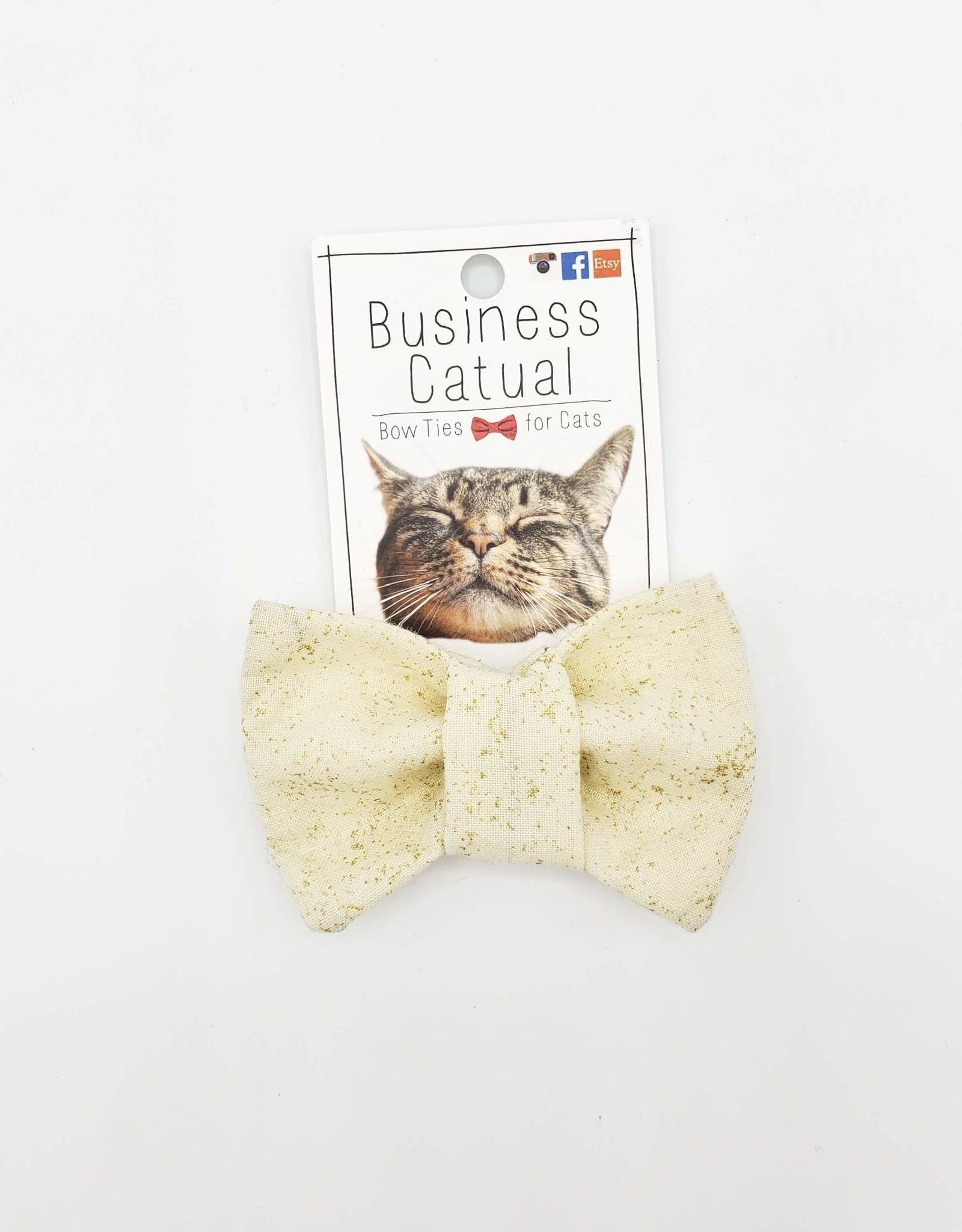 Sparkle Cat / Dog Bow Tie by Business Catual