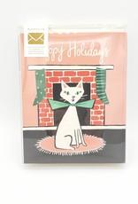 Happy Holidays Cat Greeting Card Boxed Set - Idlewild