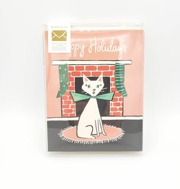 Happy Holidays Cat Greeting Card Boxed Set - Idlewild