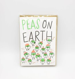"""Peas On Earth"" Holiday Greeting Card Box Set - Hello Lucky"