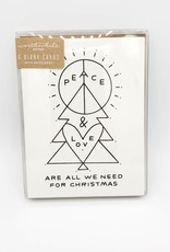 Peace & Love Greeting Card Boxed Set - Worthwhile Paper