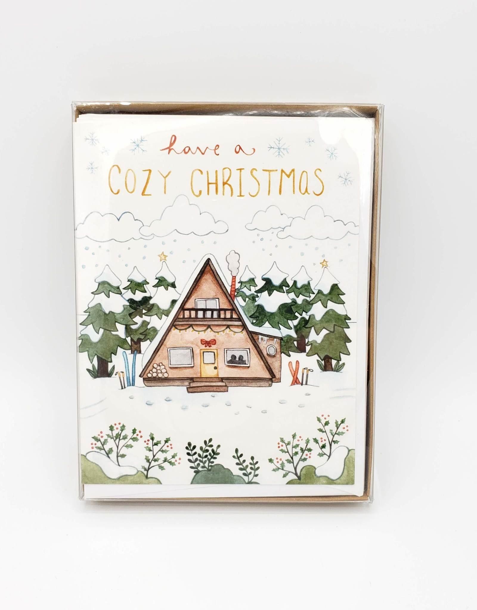 Cozy Christmas Greeting Card Box Set - Little Canoe