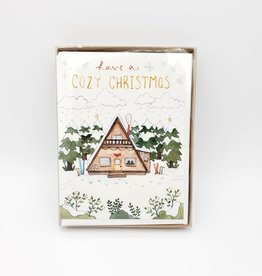 Cozy Christmas Greeting Card Box Set - Little Canoe
