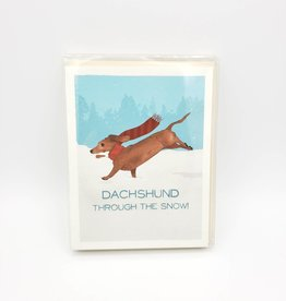 "Seltzer ""Dachshund Through the Snow!"" Cards Box Set - Seltzer"