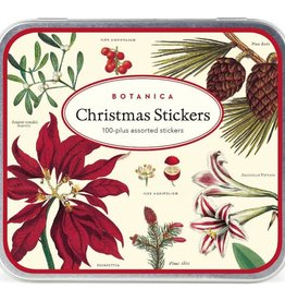 Cavallini Papers Vintage Christmas Botanica Stickers Pack - Cavallini