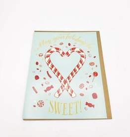 Holiday Greeting Card Pack- 2 Styles - Holly / Sweet