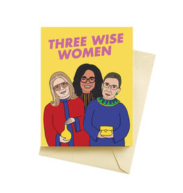 "Seltzer ""Three Wise Women"" Greeting Card - Seltzer"