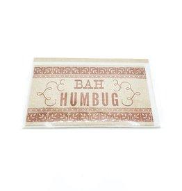 Bah Humbug Mini Card - Hammerpress