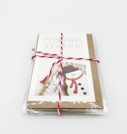 """Tis the Season""  Mini Holiday Greeting Card set of 6 - Modern Lore"