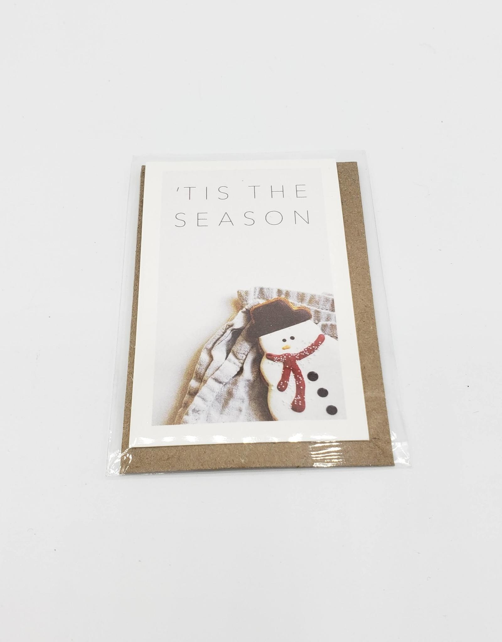 """Tis the Season""  Mini Holiday Greeting Card set of 6 - Modern Lore"