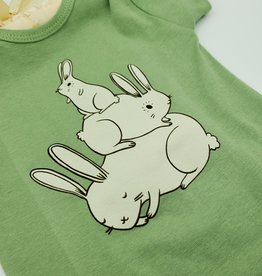 Bunny Pile Baby Onesie - Susie Ghahremani