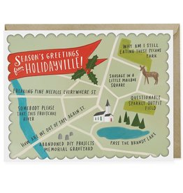 """Emily McDowell """"Holidayville"""" Greeting Card - Emily McDowell"""